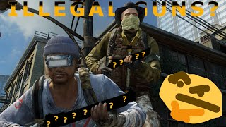 Using Illegally OP Guns ft @Tajae The Last Of Us!