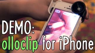 Product Demo: olloclip (3-in-1 lens for iPhone)