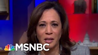 Senator Kamala Harris On President Donald Trump's Interest In Foreign Election Help | All In | MSNBC