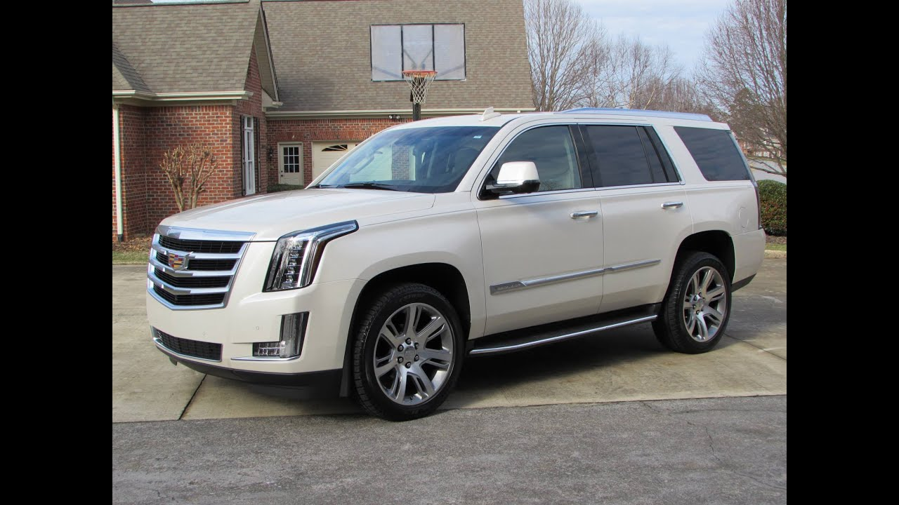 2015 Cadillac Escalade Esv Start Up Road Test And In