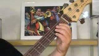 Walking Bass Lines - Transitions (electric bass)