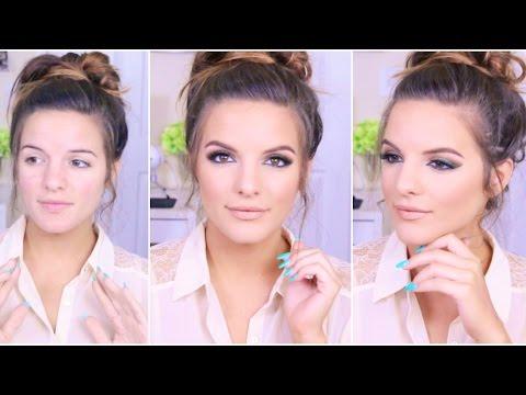 Green Liner / Warm Eyeshadow | Makeup Tutorial