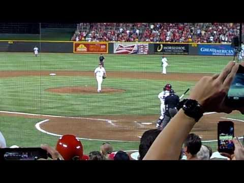 Homer Bailey No-Hitter Finale 7-2-2013 at GABP
