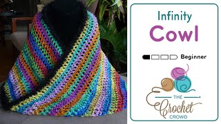 How To Crochet Infinity Cowl