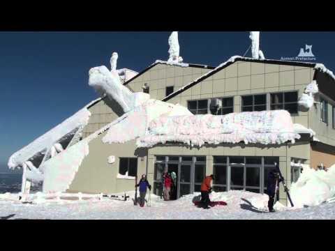 冬の八甲田山 - 樹氷とロープウェー - 0720A