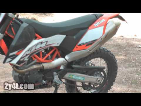 KTM 690 Enduro R 2010 Test Video