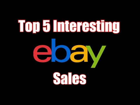 Top 5 Interesting And Most Expensive Items To Ever Sell On eBay