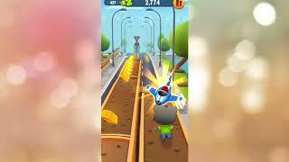 Talking Tom Gold Run Kids Game   Android Gameplay #2