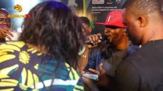 TAYE CURRENCY'S PERFORMANCE AT SHINA PELLER'S UNITY CUP