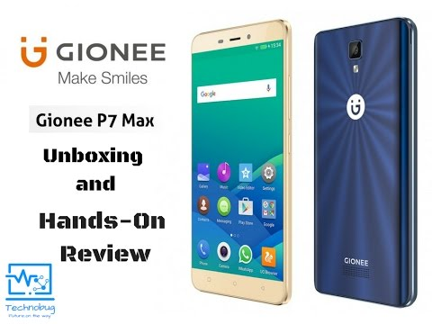 gionee p7 max.. Hands-on Review.. In hindi