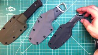 Some new kydex sheaths