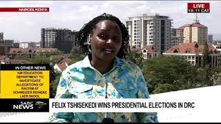 Felix Tshisekedi wins DRC Presidential elections