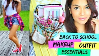 Back To School: Essentials, Outfit, and  Makeup!   BELINDA SELENE