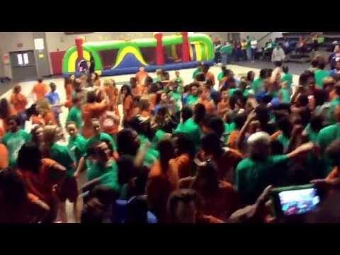 Byram middle school Harlem shake 8th grade day