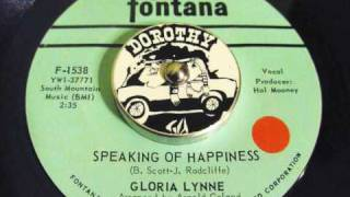 Watch Gloria Lynne Speaking Of Happiness video