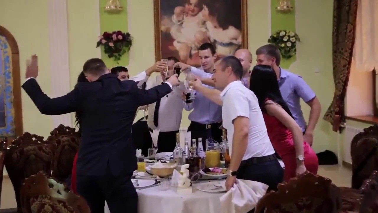 Видеосъемка поздравлений на свадьбе