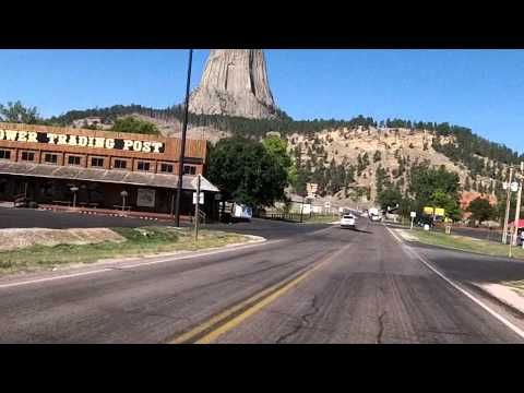Road to Devils Tower, Wyoming