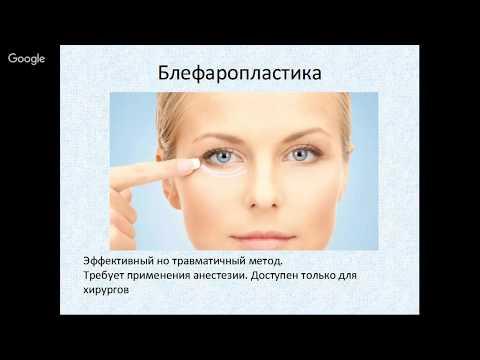 Безоперационная блефаропластика доступная любому косметологу!
