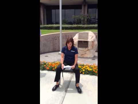 CYPD Chief's ice water challenge