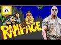 Download RAMPAGE Movie vs Games - What's The Difference? in Mp3, Mp4 and 3GP