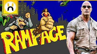 RAMPAGE Movie vs Games - What's The Difference?