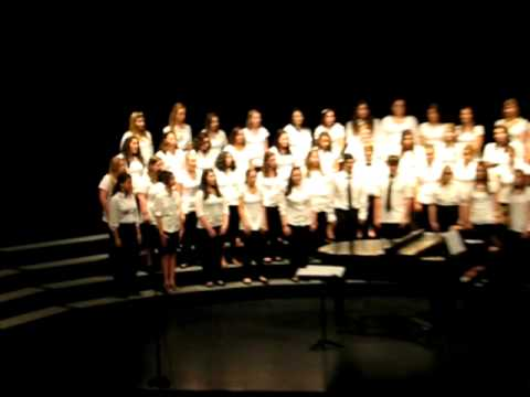 2010-05-20 11 NHSS Spring Concert-Freshmen Choir-Lightning!.AVI