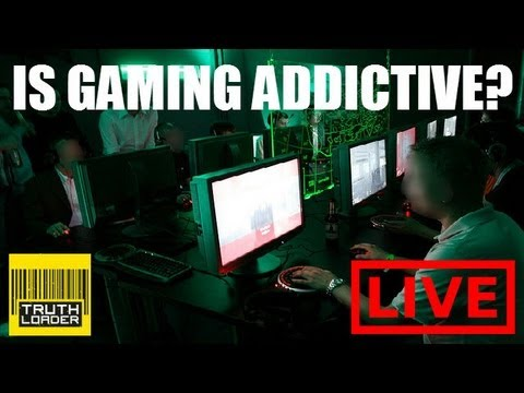 Is gaming addictive? With OMFGcata aka Jesse Cox, Dave Chaos, Dan Maher and more - Truthloader LIVE