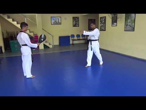 Taekwondo - 6ª Aula: Duplo Bandal De Ataque video