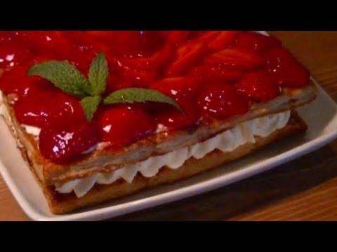 Como Hacer Tarta de Fresas Fácil con Hojaldre
