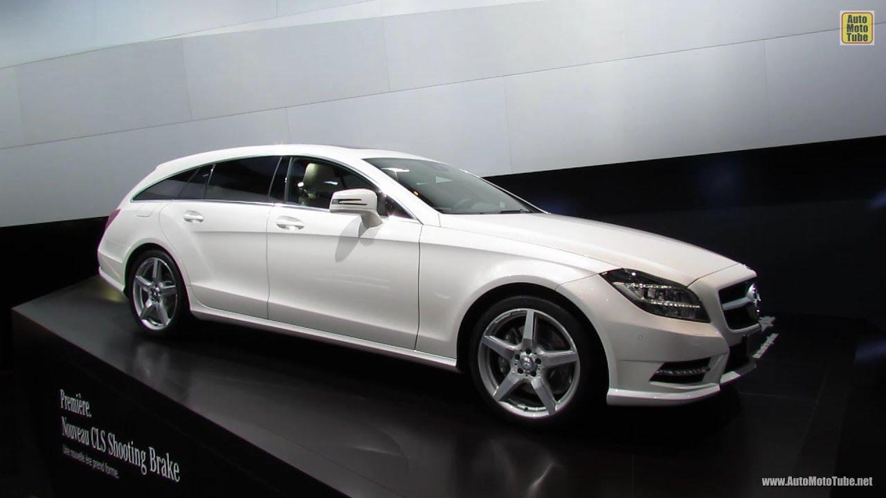 2013 mercedes benz cls 350 cdi shooting brake 2012 paris for Mercedes benz cls station wagon