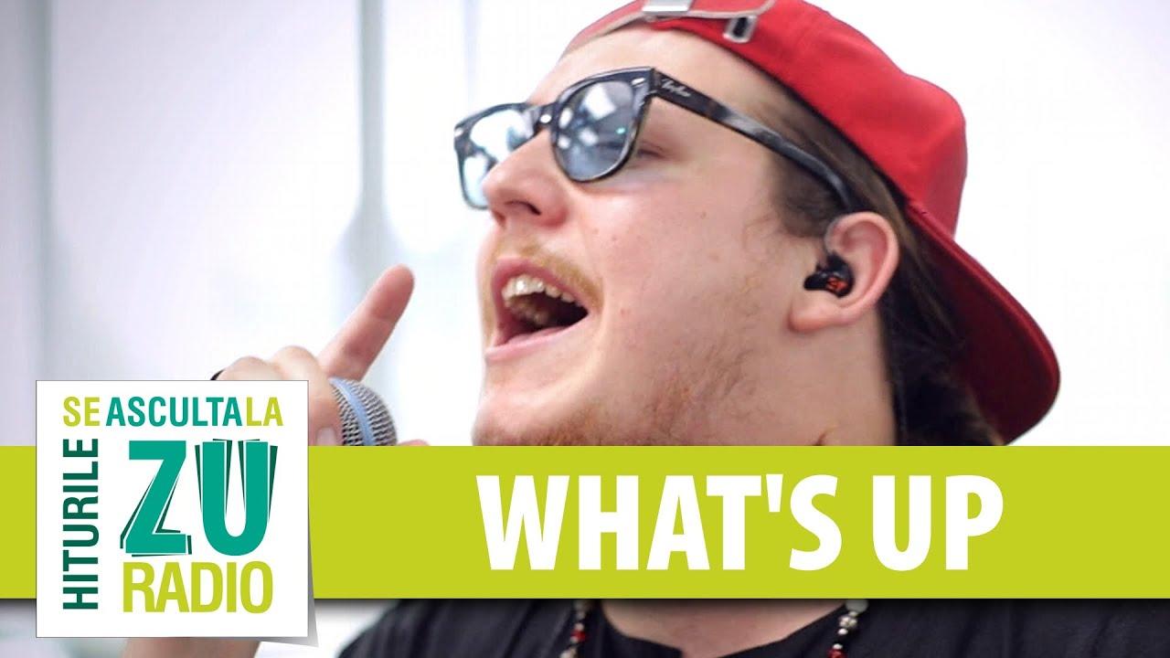 What's Up - Bine (Live la Radio ZU)