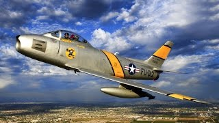 American F-86 Sabre | Redefining Air Combat for an Unknown Glory | Military