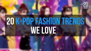 20 K-Pop Fashion Trends We Love | 20 Years With Soompi