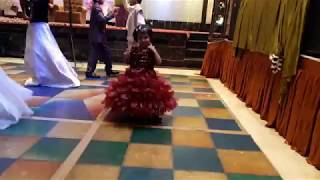 cute dance by 2year old kid on kala chasma #basic dance step on kala chasma #easy step on kala chasm