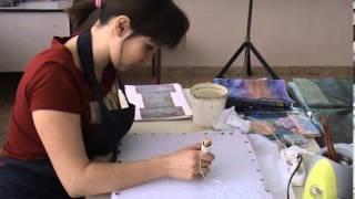 Горячий батик (Ведущая  - Самаринкина А.В., член Союза художников РФ)
