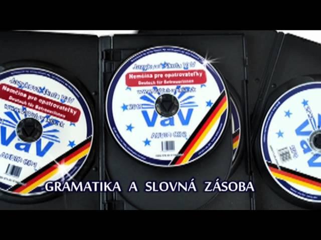 CD NEMČINA PRE OPATROVATEĽKY