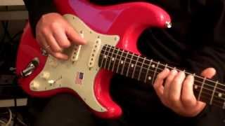 Improvisation on Mark Knopfler Signature Strat