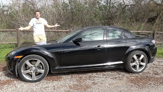 The Mazda RX-8 Is a Fun Car You Probably Shouldn't Buy