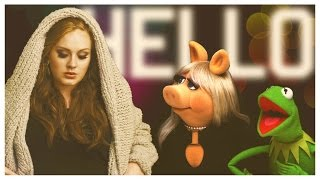 "Kermit Covers Adele's ""Hello"" - ""Hi-ho"""