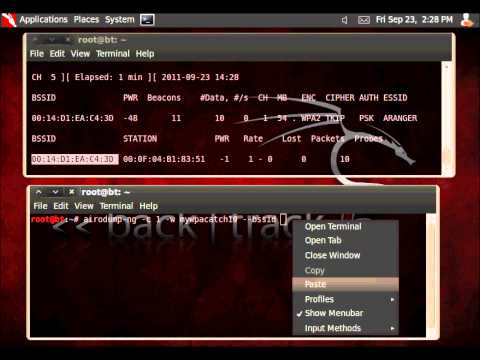 WPA/WPA2 Handshake capture with the Netgear WG111 v2