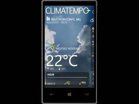 Windows Phone: Aplicativos de Previsão do Tempo (Review)