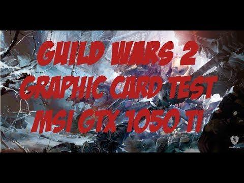 Guild Wars 2 [BEST MMORPG] Testing Graphic Card MSI Gforce GTX 1050ti 1920x1080(60FPS)