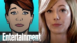 Judy Greer recaps 'Archer' in 30 Seconds