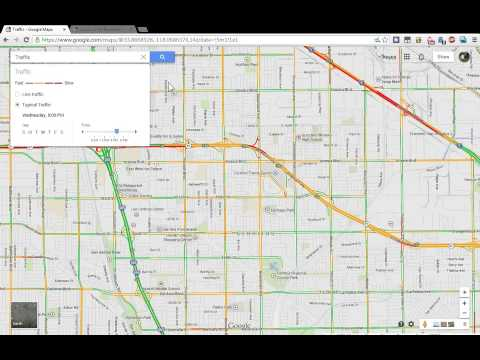 How to show traffic predictions on the new Google Maps (updated info in description)
