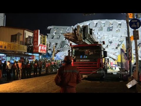Fourteen dead, 150 missing after Taiwan quake fells buildings