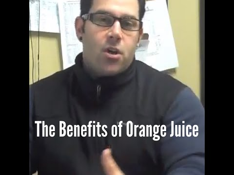 What is in Orange Juice?