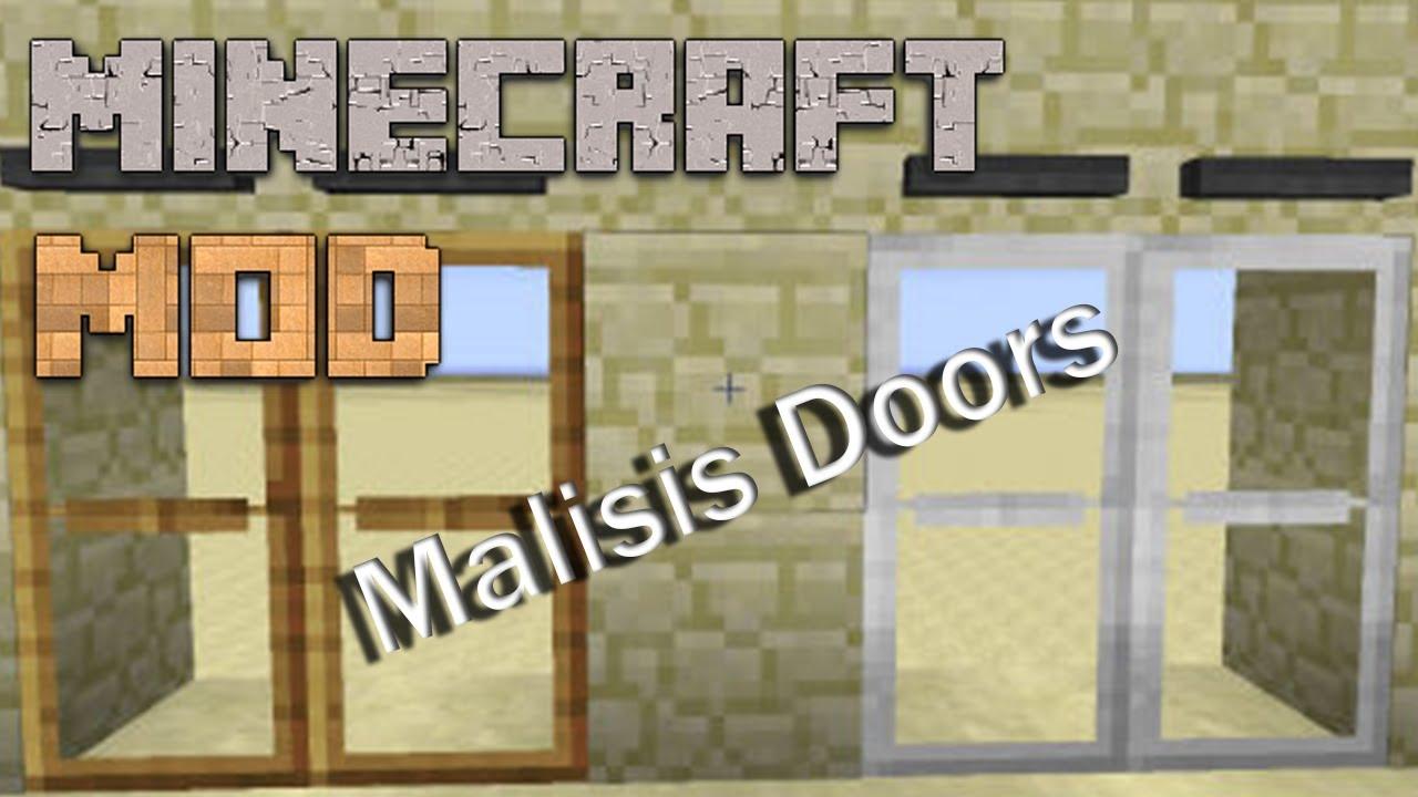 Special Doors Mod Minecraft Mods Malisis Doors