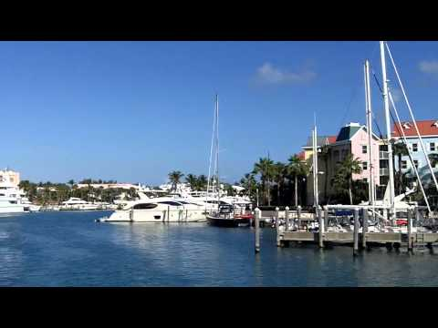 Entering Paradise Island Marina, Feb 26, 2011.MOV