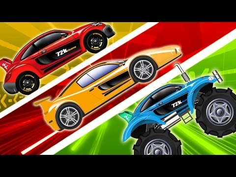 Sports Car | Racing Cars Compilation | Cars for Kids | Videos for Children