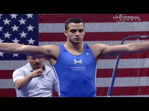 Danell Leyva takes 2nd at Visa Championship - night 2 routines